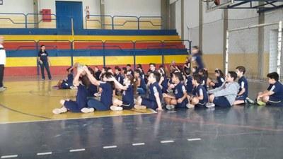 Alunos do 3º ano participam da Gincana Esportiva