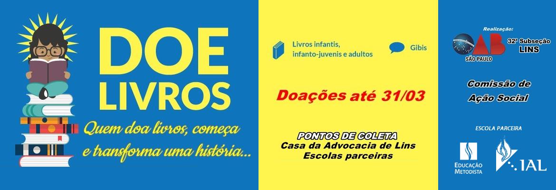 DOE LIVROS - OAB LINS