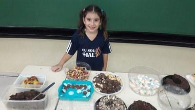 Comemoração do dia das crianças com os alunos do Fund I