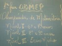 Primeira fase da OBMEP